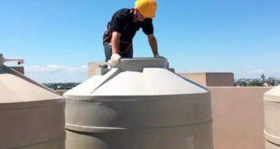 إصلاح وعزل خزانات المياه